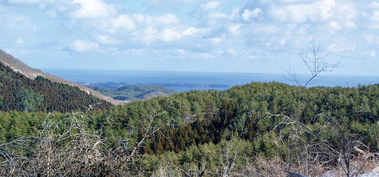坂の貝峠眺望